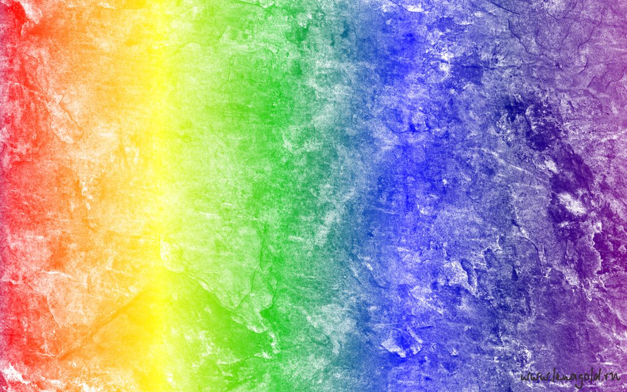 Картинки нарисованная радуга 2